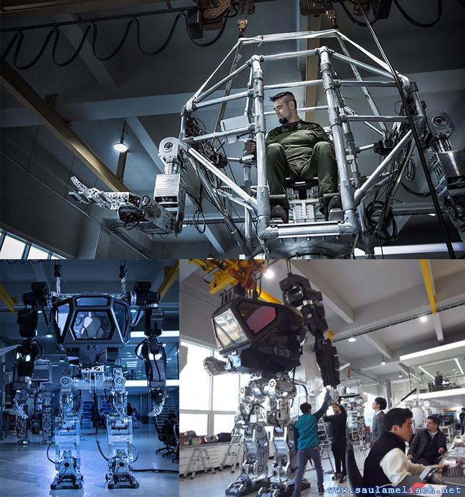 Desarrollan robot al estilo Pacific Rim en Corea del Sur