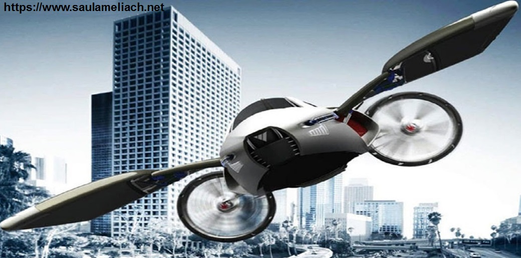 saul ameliach - coche volador