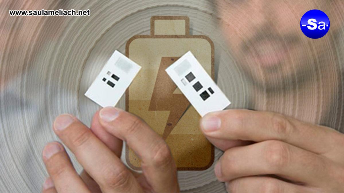 saul ameliach - batería de papel