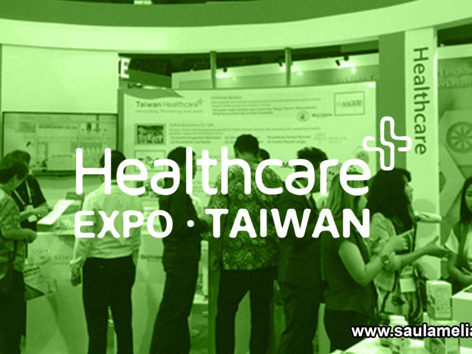 saul ameliach -Expo Healthcare en Taiwán tecnología y salud