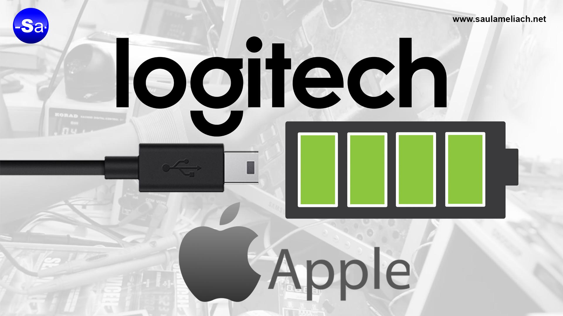 Apple y Logitech - saul ameliach