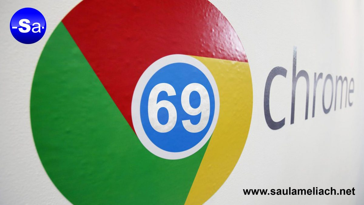 saul amliach - google chrome 69