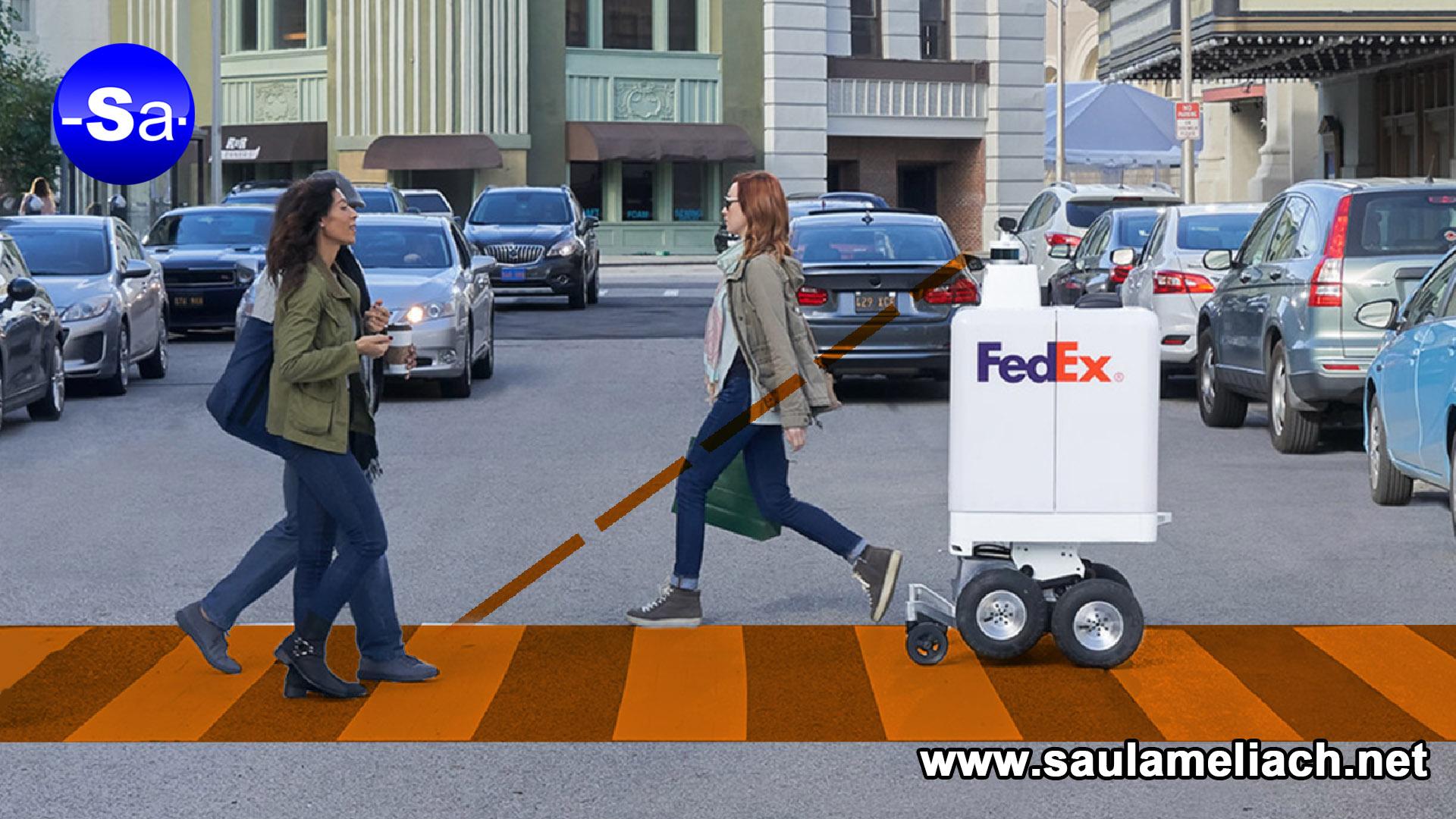 saulameliach - FedEx implementará robots para entregas a domicilio 2